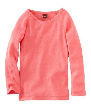 Pink Lemonade Ribbed Purity Tee - Infant & Girls