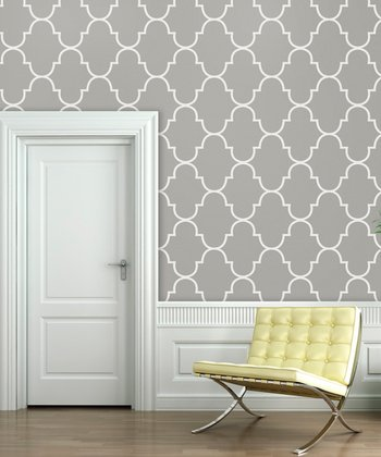 Silly Putty Classic Trellis Wallpaper Decal