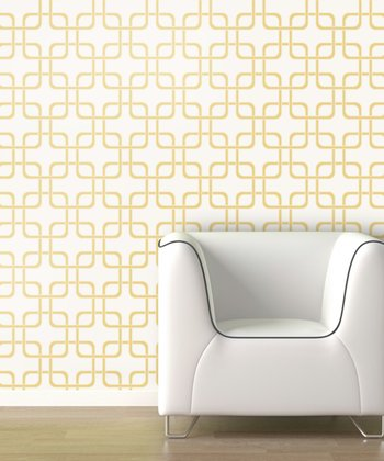 Gold Rush Cubix Wallpaper Decal
