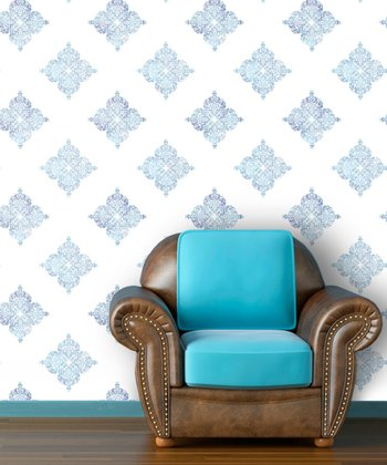 Sea Spray Moroccan Wallpaper Decal