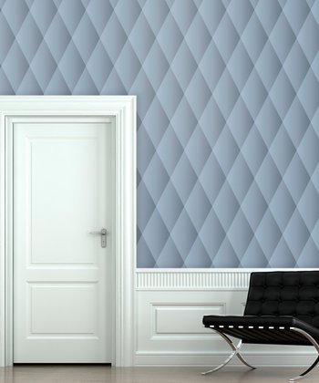 Denim Quilted Wallpaper Decal