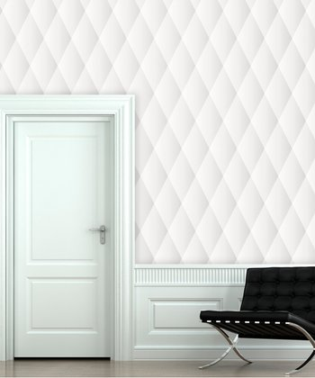 Fresh Linen Quilted Wallpaper Decal