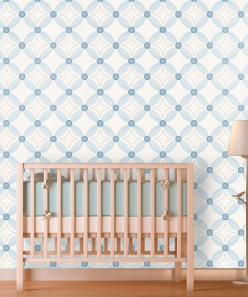 It's a Boy Tufted Quilt Wallpaper Decal
