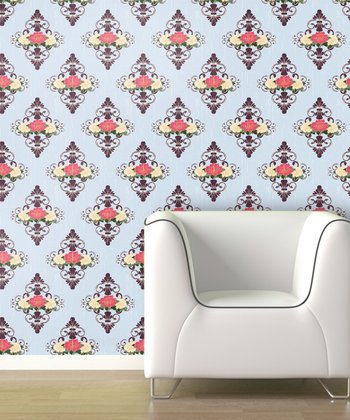 Vintage Dollhouse Wallpaper Decal