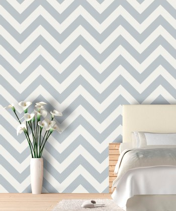 Dolphin Zigzag Wallpaper Decal