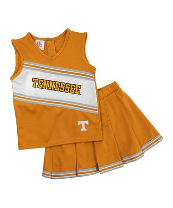 Tennessee Cheerleading Top & Skirt - Toddler & Girls