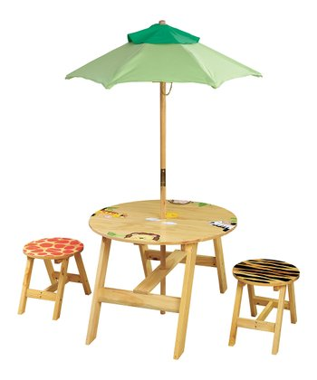 Sunny Safari Outdoor Table & Chair Set