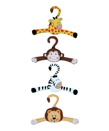 Sunny Safari Hanger - Set of Four