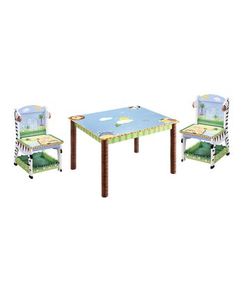 Sunny Safari Table & Chair Set