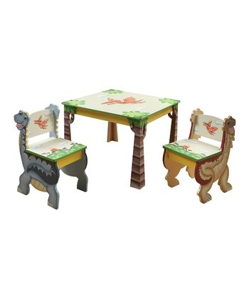Dinosaur Kingdom Table & Chair Set