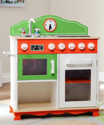 My Little Chef Electric Stove Top Play Kitchen