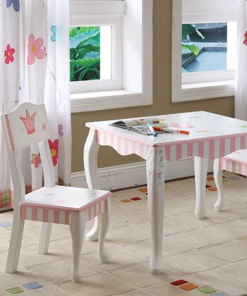 Princess & Frog Table & Chair Set