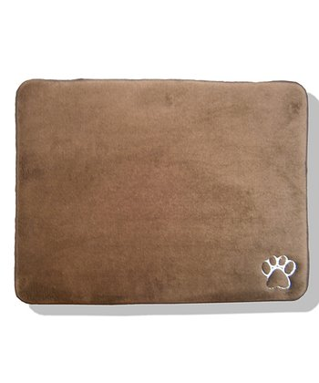 Brown Memory Foam Pet Mat