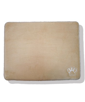Tan Memory Foam Pet Mat