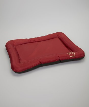 Red Waterproof Pet Crate Pad