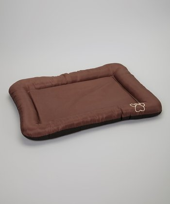 Brown Waterproof Pet Crate Pad