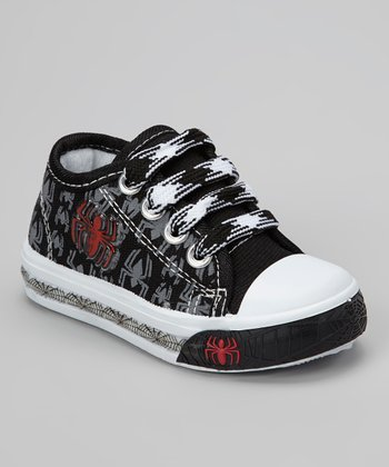 Black Spider Light-Up Sneaker