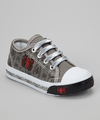 Gray Spider Light-Up Sneaker