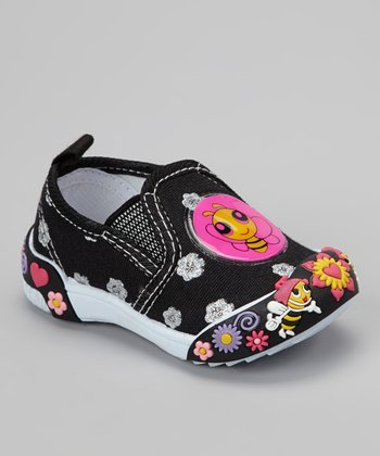 Black Bee Slip-On Shoe