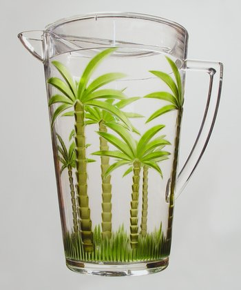 Palm Tree Pitcher
