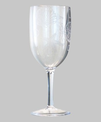 Acrylic Oceanic Wine Glass - Set of Four