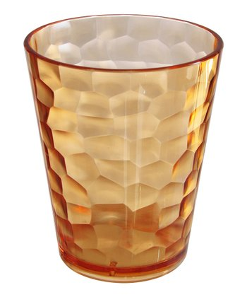 Coffee Hammered Double Old-Fashioned Tumbler - Set of Four