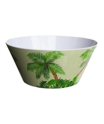 Palm Tree Large Bowl - Set of Four