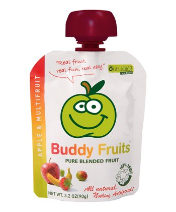 Mixed Fruit Blended Fruit Pouch - Set of 18