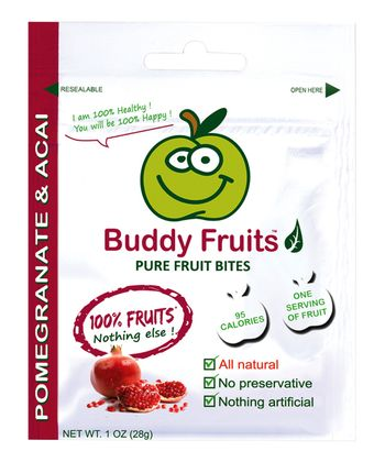 Pomegranate & Acai Fruit Bites Bag - Set of 18