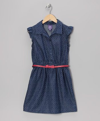 Dark Wash Mini Heart Dress