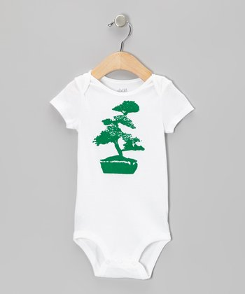 White Bonsai Bodysuit - Infant