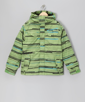 Grass Smarty Streak Jacket - Boys