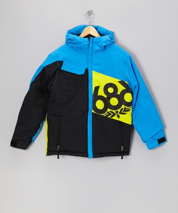 Blue Mannual Iconic Jacket - Boys