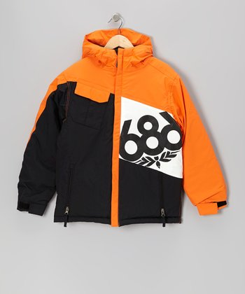 Orange Mannual Iconic Jacket - Boys