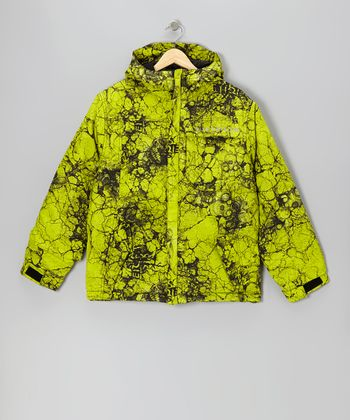 Acid Mannual Cracked Jacket - Boys