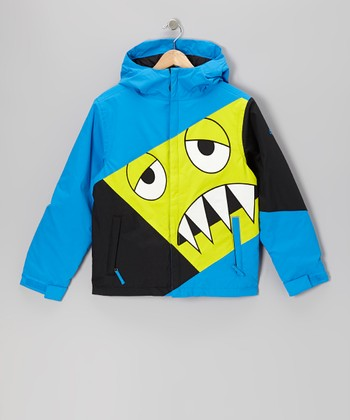 Blue Snaggleface Jacket - Boys