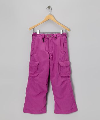 Light Orchid Smarty Mandy Cargo Pants