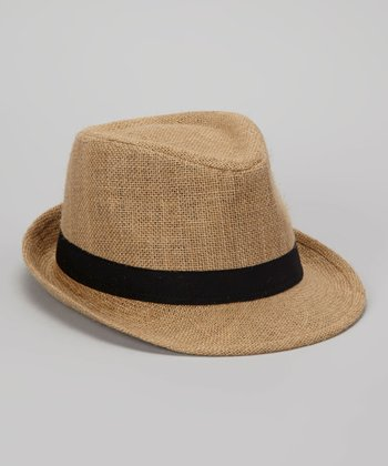 Natural Hemp Fedora