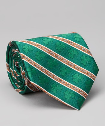 Notre Dame Fighting Irish Thin-Stripe Silk Tie