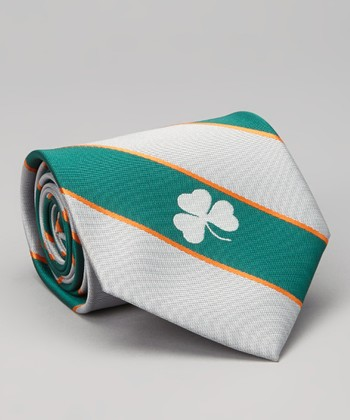 Notre Dame Fighting Irish Wide-Stripe Silk Tie