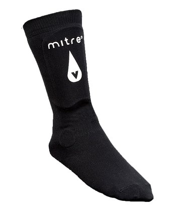 Black Shin Guard Sock