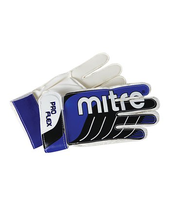 Blue Adult Goalie Gloves