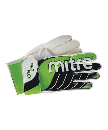 Green Adult Goalie Gloves