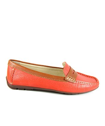 Coral & Cognac Renee Loafer