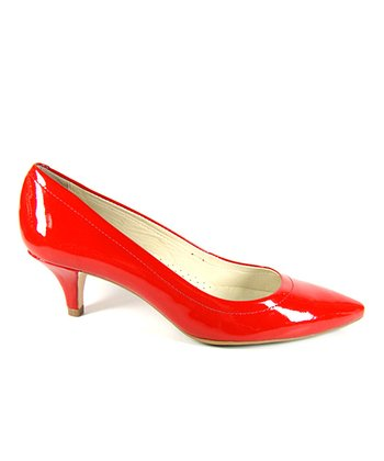 Red Lisa Pump
