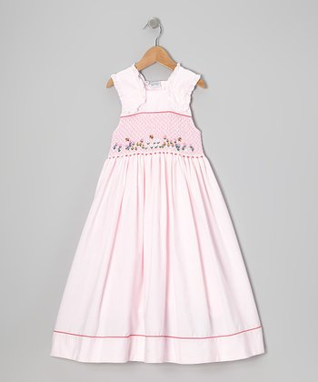 Pink Garden Spring Dress - Infant, Toddler & Girls