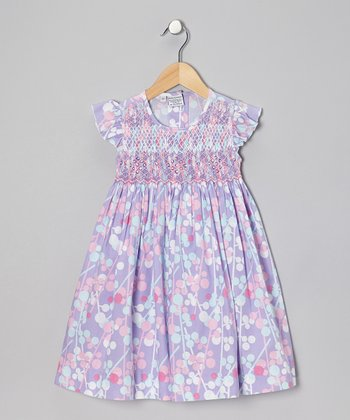 Purple Elaine Dress - Infant