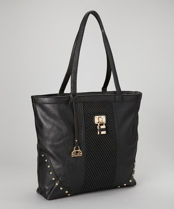 Black Lock Haley Tote