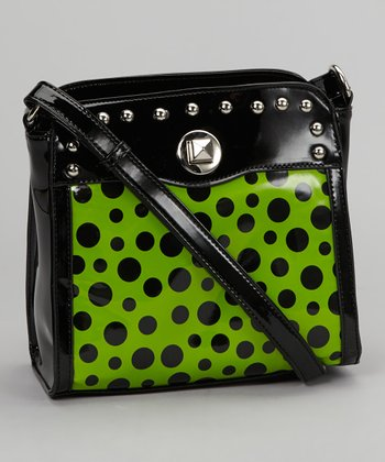 Lime Phoebe Crossbody Bag