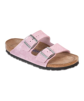 Passion Flower Suede Arizona Slide - Women